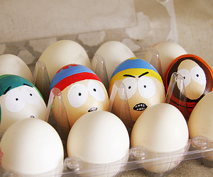 South park, funny, and egg image