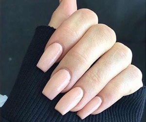 nails, fashion, and Nude image