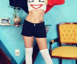 cosplay, joker, and cute face image