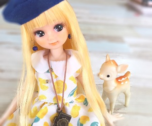 doll, girl, and toy image