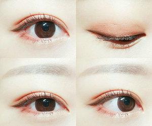 asian, eyes, and girl image
