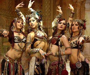 belly dance, gypsy, and urban image
