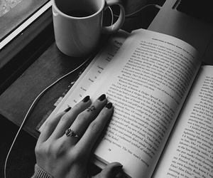 beauty, book, and tumblr image