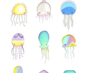 jellyfish and cute image