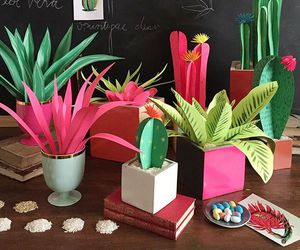 diy and paper plants image
