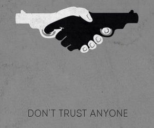 gun, trust, and friends image