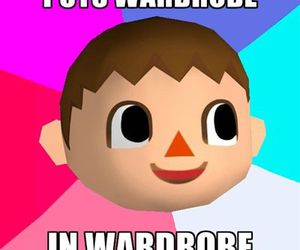 animal crossing, funny, and lol image