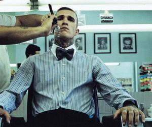 bowties, guy, and shaving image