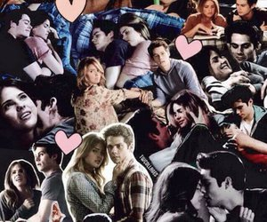 teen wolf, stalia, and Collage image