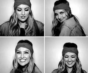 b&w, smile, and perrie edwards image