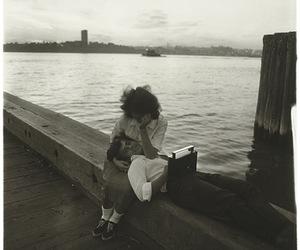 black and white and Diane Arbus image