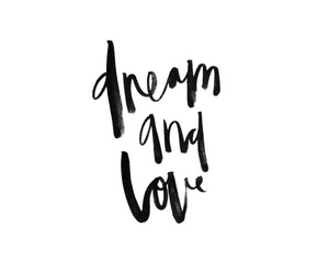 quote, Dream, and text image