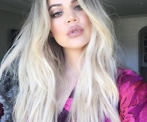 khloe kardashian, hair, and kardashian image