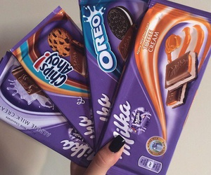 chocolate, food, and milka image