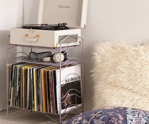 record player, room ideas, and records image