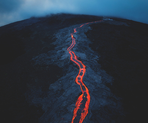 lava, nature, and wallpaper image