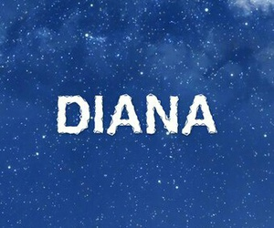 background and diana image