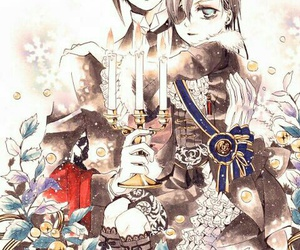 anime, black butler, and bow image