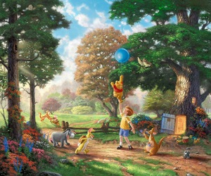 disney, art, and winnie the pooh image