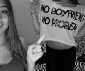 girl, boyfriend, and problem image
