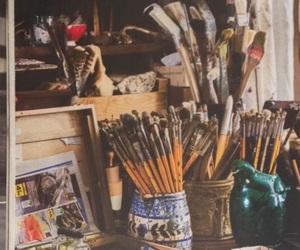 artiste, paint, and décoration image