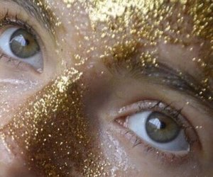 aesthetic, glitter, and gold image