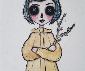 coraline, movie, and coraline jones image