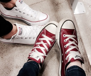 converse, friend, and school image