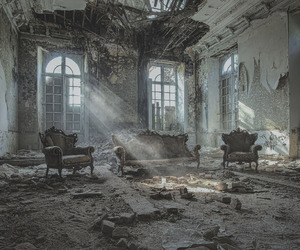 abandoned, hotel, and vintage image