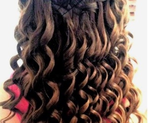 curls, hairstyles, and pretty image