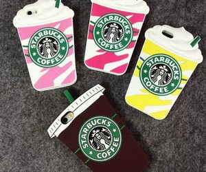 case, starbucks, and iphone image