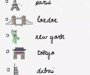 paris, london, and new york image