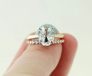 accessories, rings, and wedding image