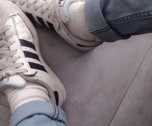 adidas, pale, and shoes image