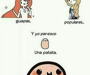 girl, popular, and potato image