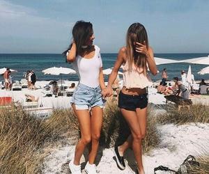 beach, holidays, and me image