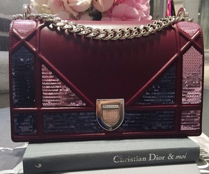 fashion, bag, and dior image
