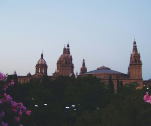architecture, Barcelona, and castle image