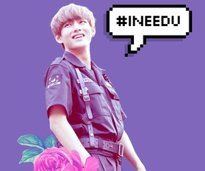 edit, flower, and kpop image