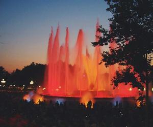 Barcelona, beautiful, and fountain image