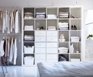 room, white, and closet image