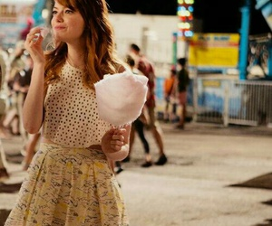 cotton candy and emma stone image