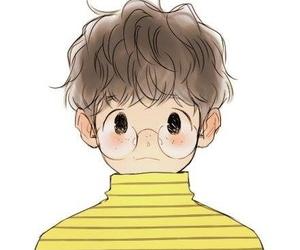 exo, byun baekhyun, and fanart image