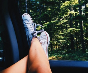 converse, car, and hipster image