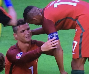 cristiano ronaldo, nani, and football image