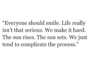 life, smile, and quotes image