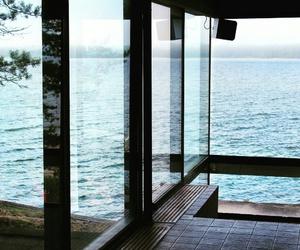 beautiful, ocean, and windows image