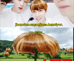 bts, j-hope, and funny image