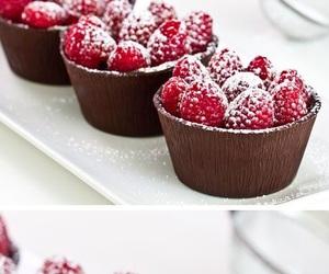 chocolat, dessert, and food image