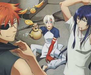 anime, lavi, and allen walker image